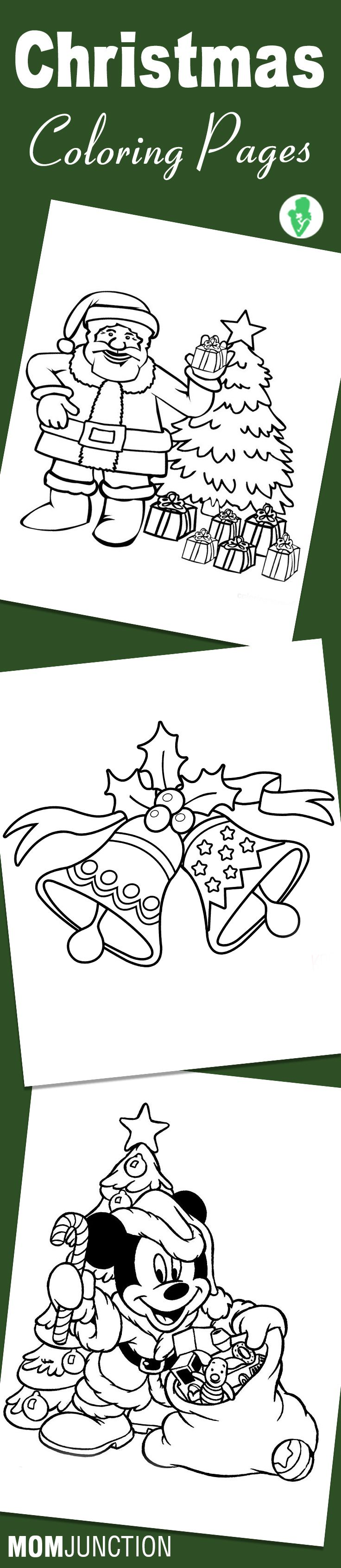 Top 25 Free Printable Christmas Coloring Pages Online | Colorear ...