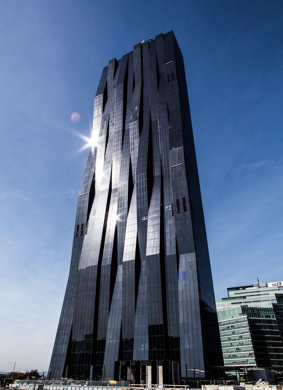 Dc Tower 1 Dominique Perrault Architecture Vienna Architektur