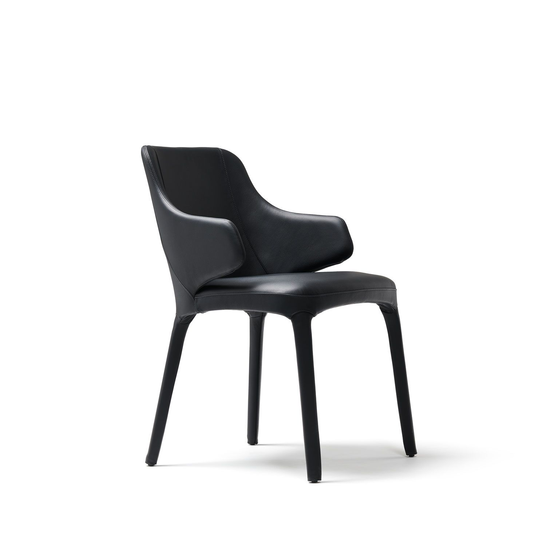 Designer Discount Furniture: Luxury Italian Upholstered Wanda Armchair