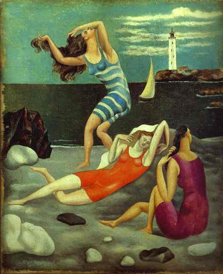 Pablo Picasso - The Bathers, 1918