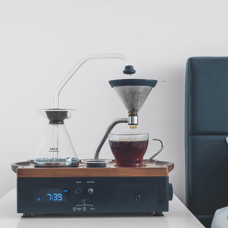 Alarm clock/tea or coffee maker, Barisieur in 2020