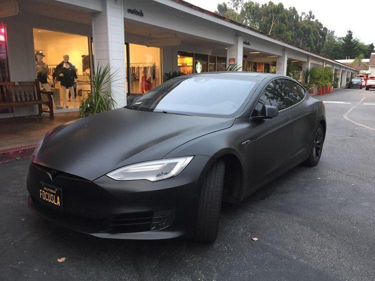 Tesla S Matte Black Cars Tesla Motors Model S Tesla Model