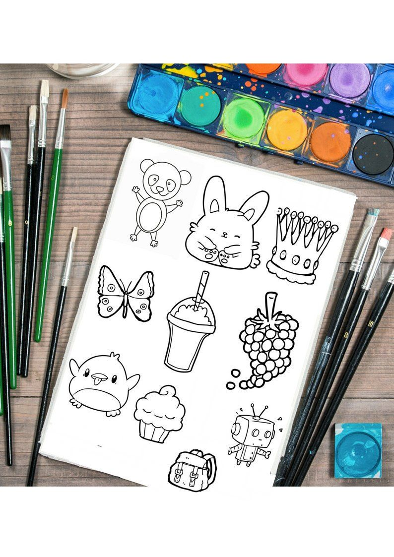 Colouring Sheet Bundle Colouring Pages Kids Colouring Etsy Printable Coloring Pages Coloring For Kids Coloring Sheets