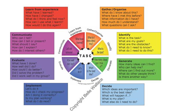 tasc problem solving wheel