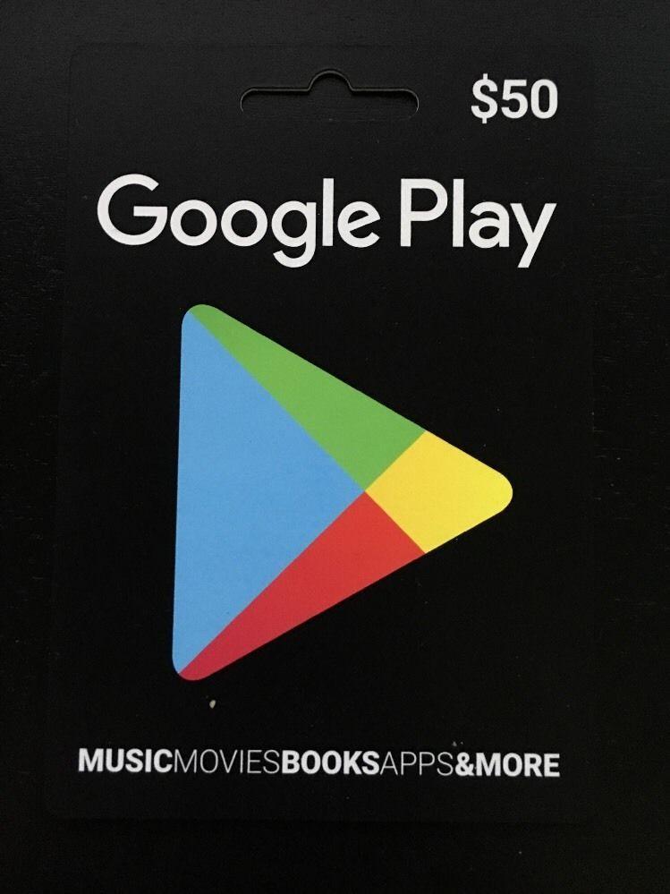 50 google play gift card
