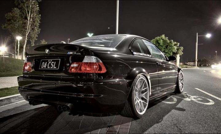 Bmw E46 M3 Csl Black Version Bmw Classic Cars Bmw Bmw Cars