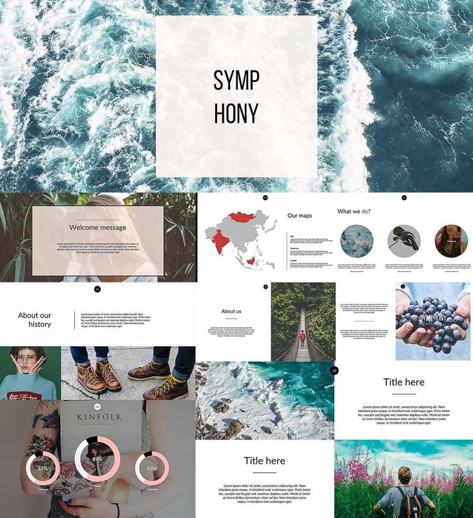 Symphony Powerpoint Templates Powerpoint Template Free
