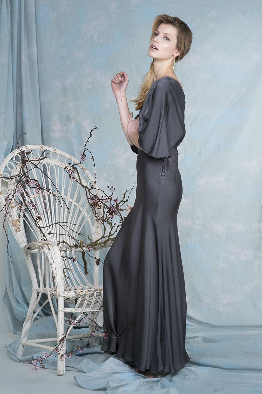 Gaby dress in charcoal | Fashion | Pinterest | Buy dress, London ...