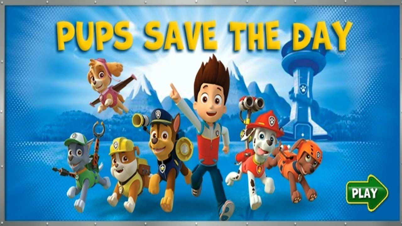 paw patrol games pups save the day  cartoon gameplay paw