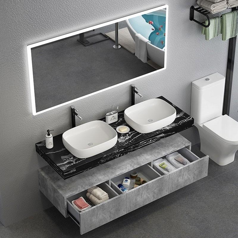 Modern 48 In 2020 Floating Bathroom Vanities Modern Bathroom Vanity Vanity Sink