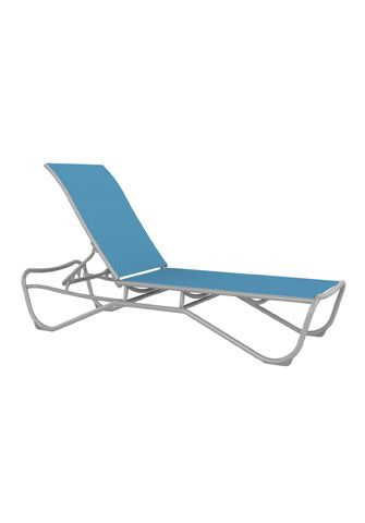 Tropitone Furniture Co Inc Millennia Relaxed Sling Armless Chaise Lounge 241533