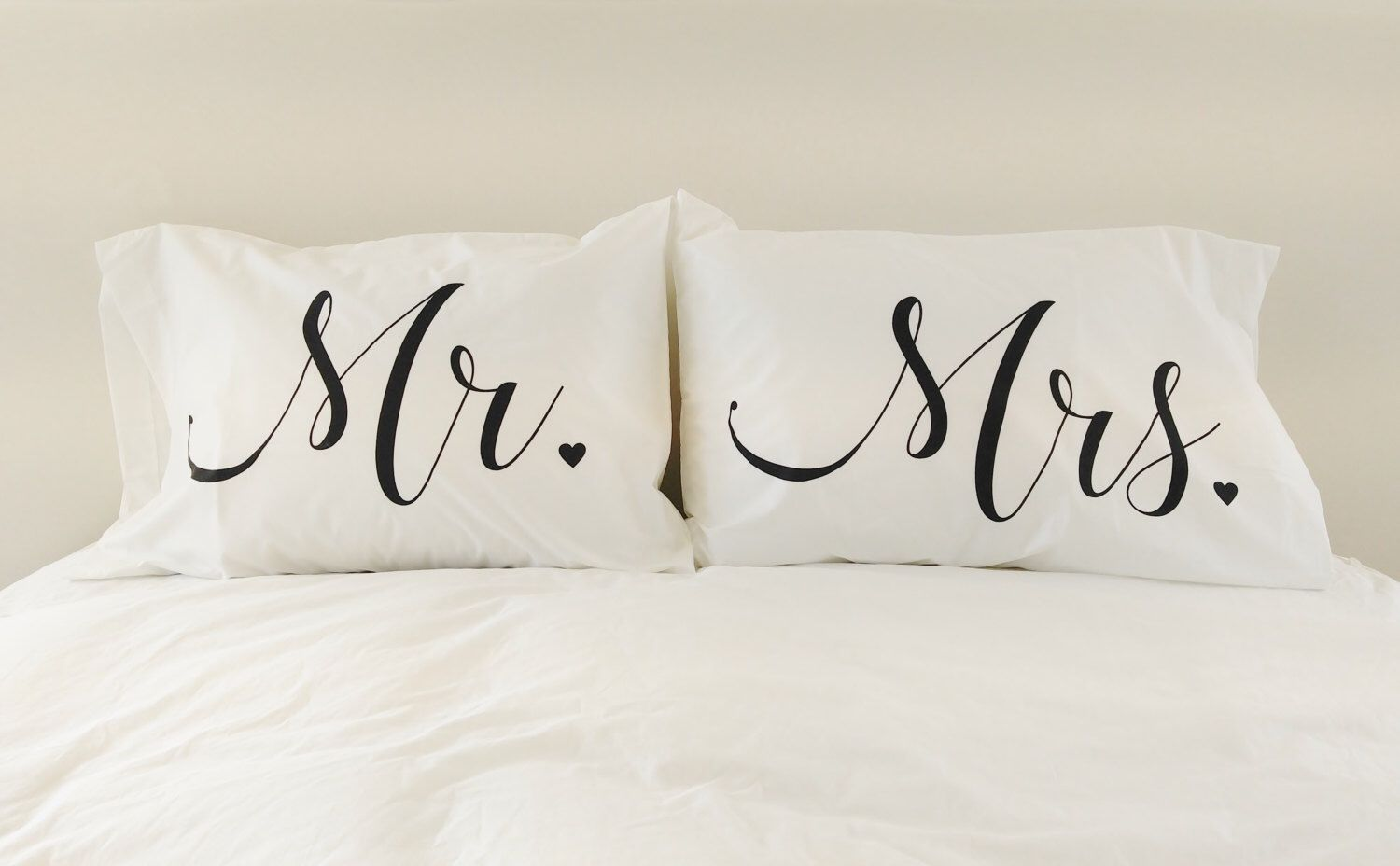 Uncategorized Unique Pillowcases mr mrs pillowcases couples pillow cases pillows unique wedding gift for