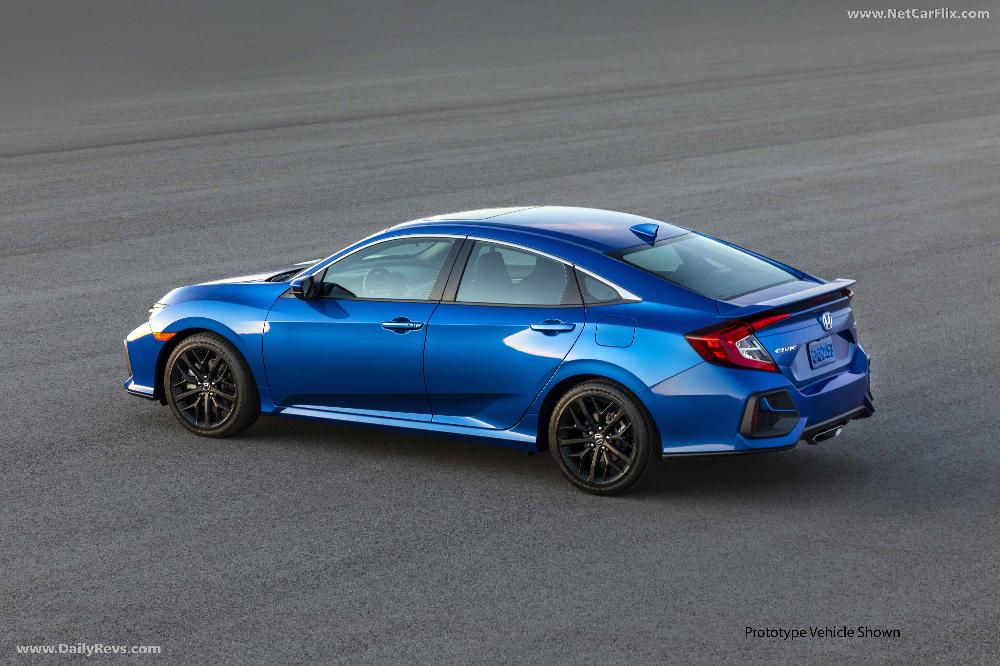 2020 Honda Civic Si Sedan HD Pictures, Videos, Specs