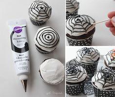 5 DIY Halloween Cupcakes - girl. Inspired.