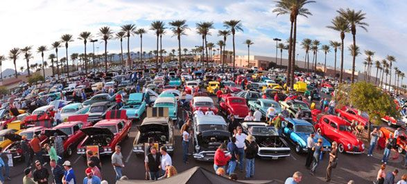 McDonalds Rock N Roll Car Show At The Pavilions Event - Scottsdale car show today
