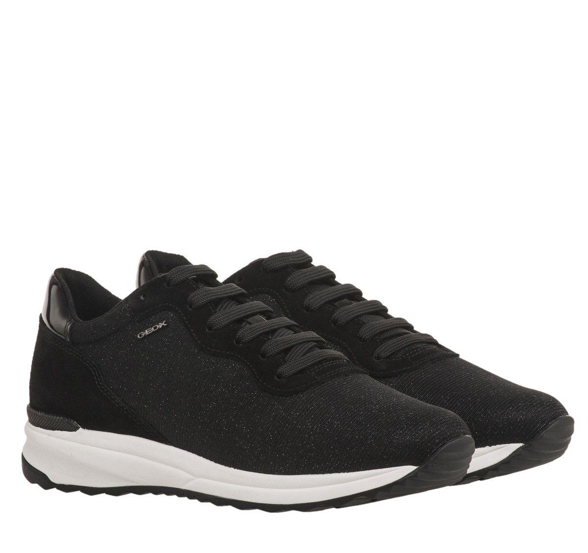 cad96c98817 ΓΥΝΑΙΚΕΙΑ ΠΑΠΟΥΤΣΙΑ SNEAKERS GEOX (BLACK) | My style | Sneakers ...