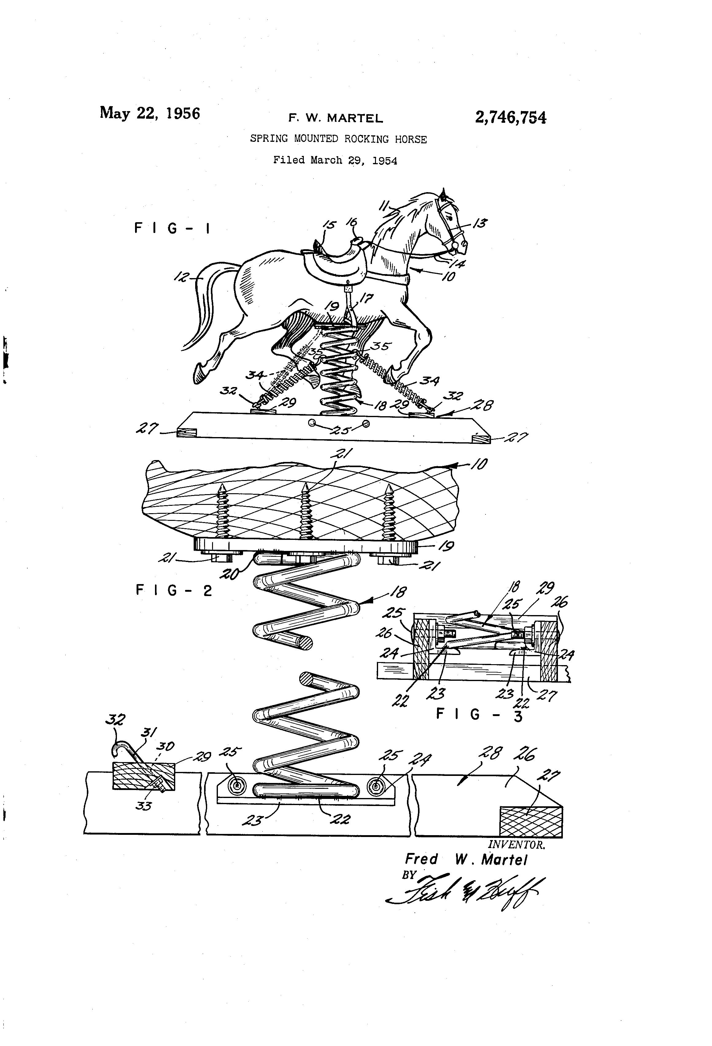 Rocking Horse Patent