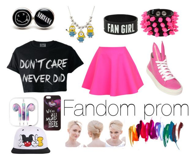 """""""Fandom prom"""" by juanis15 ❤ liked on Polyvore"""