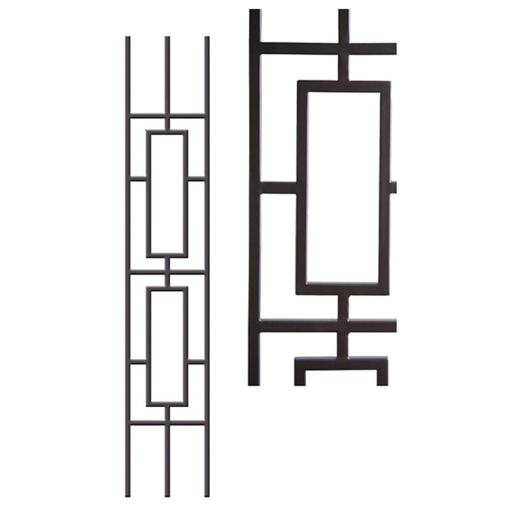 Best House Of Forgings Aalto Modern 46 In X 5 In Satin 400 x 300