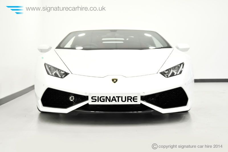 Lamborghini Huracan Front View Signature Car Hire Lamborghinis