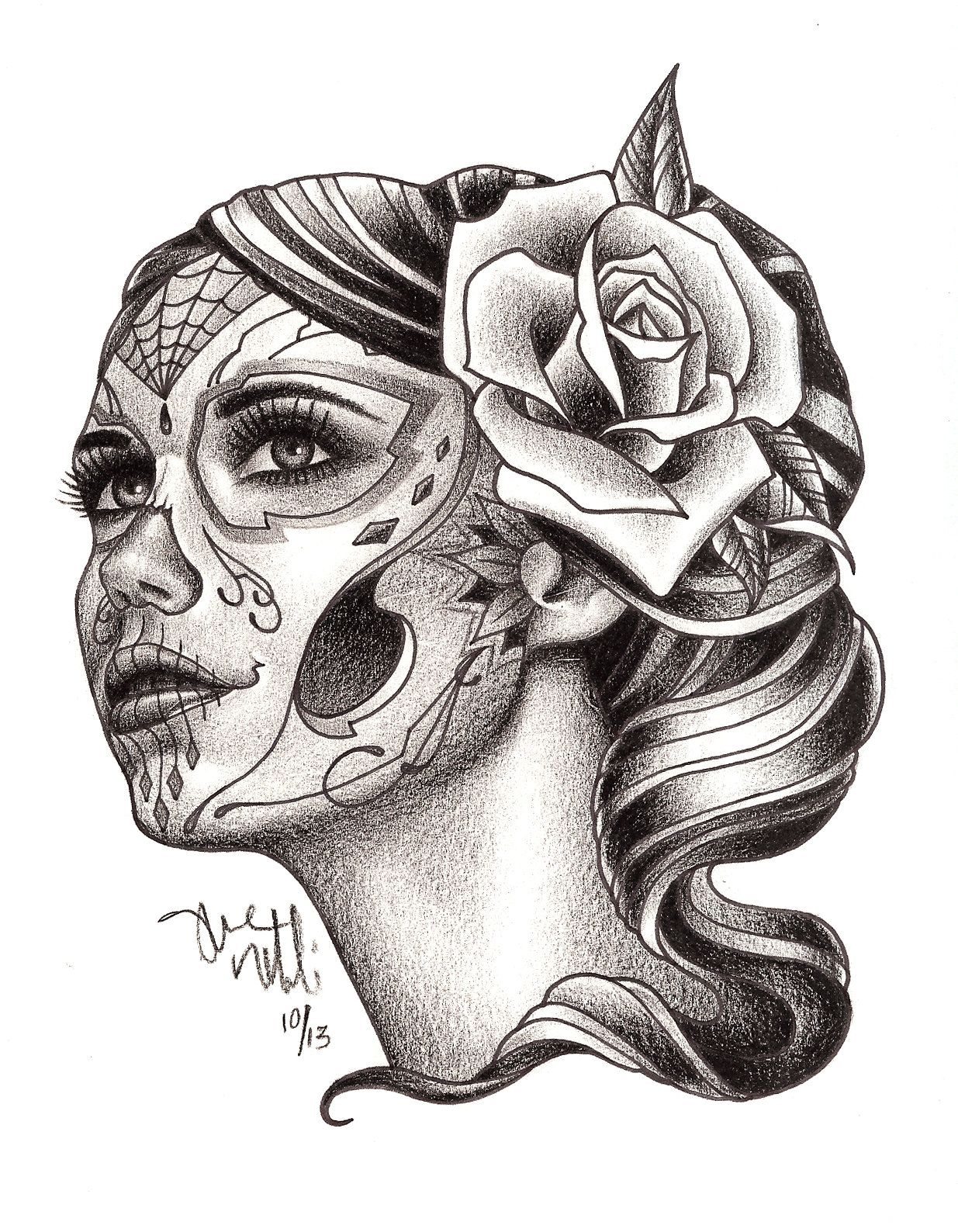 urban element tattoo and piercing denver colorado custom dia de urban element tattoo and piercing denver colorado custom dia de los muertos drawing