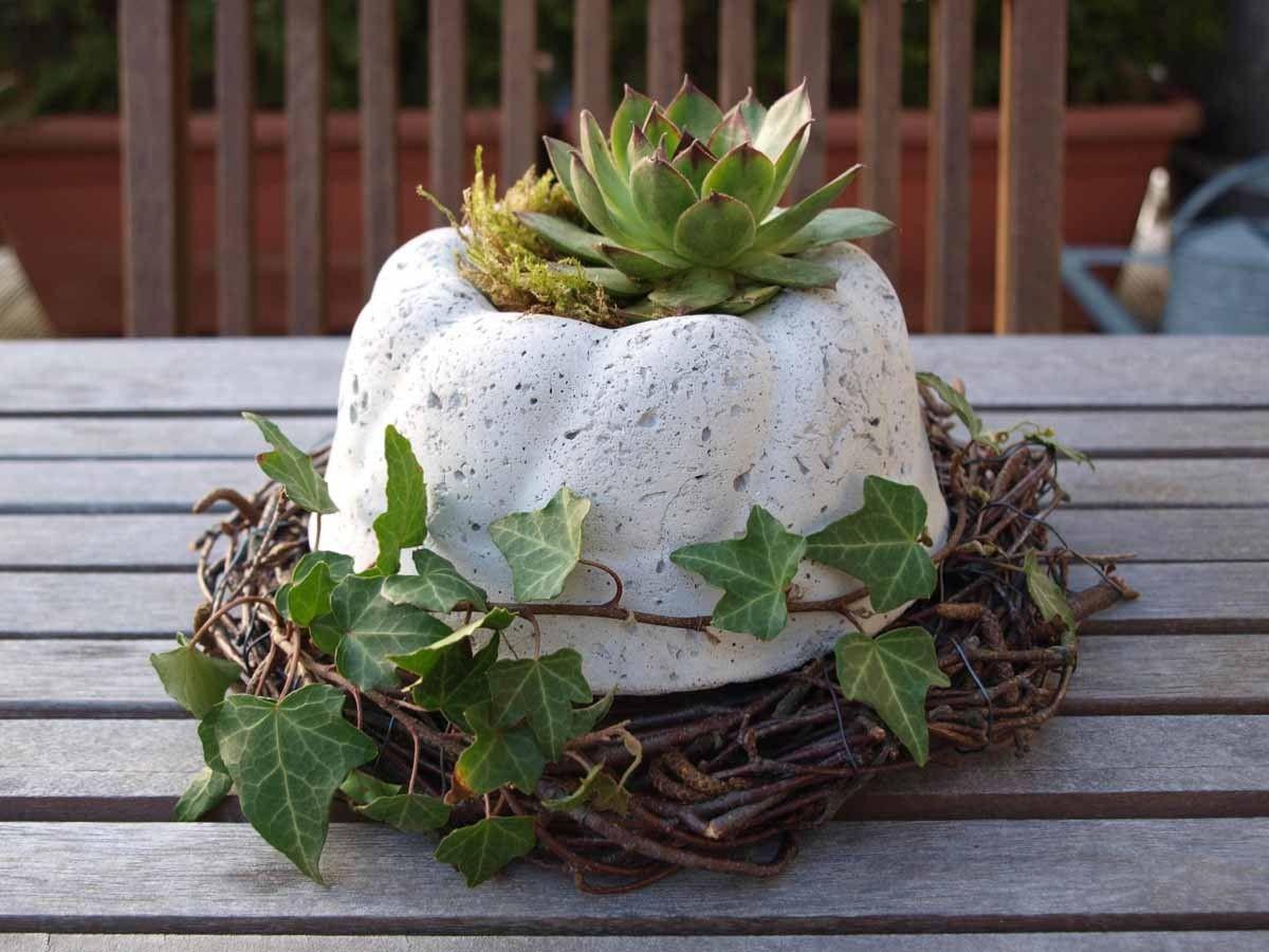 Gartendeko Beton F R Die Besonderen Pl Tze Craft Ideas