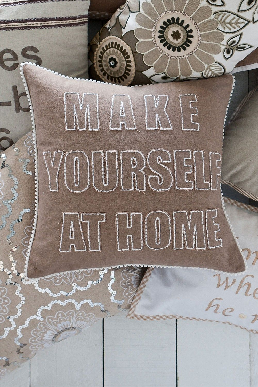 Make yourself at home cushion love it home pinterest make yourself at home cushion love it solutioingenieria Images