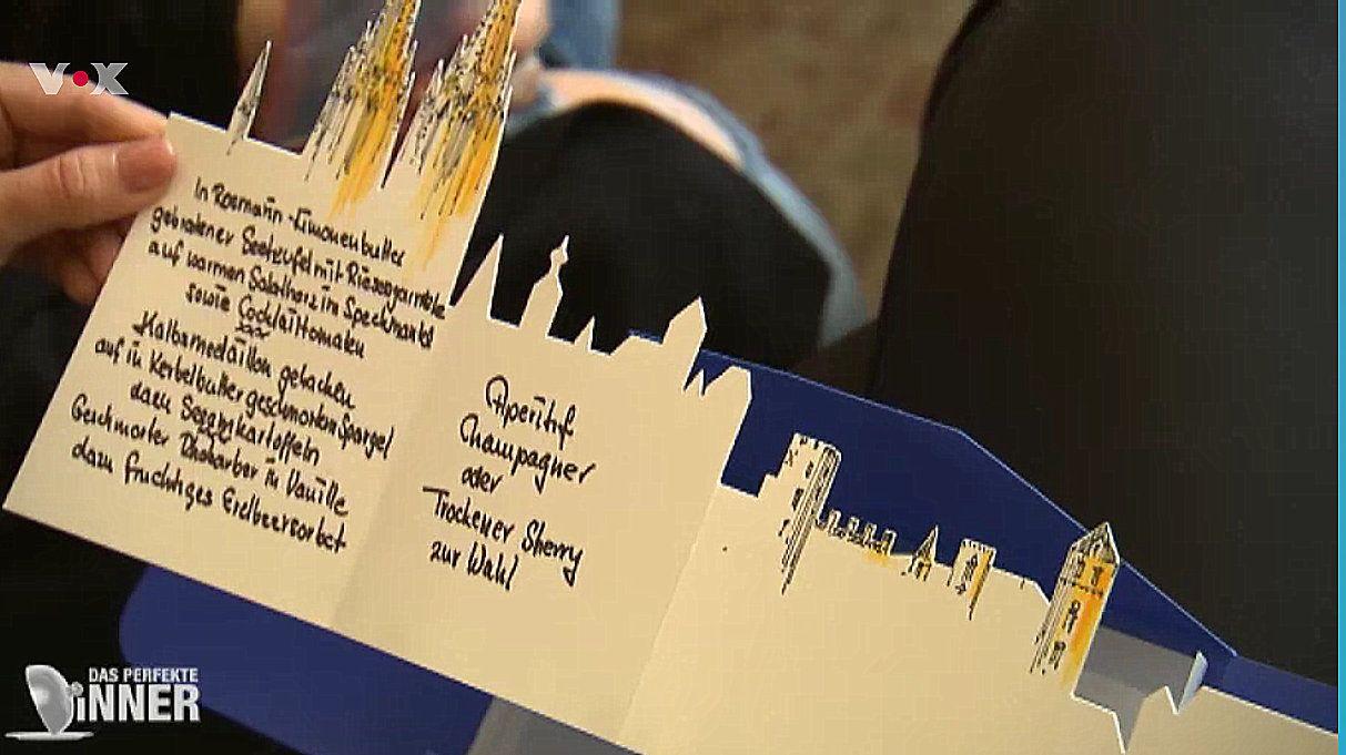 Super Idee Unsere Panoramakarte Im Perfekten Dinner Handbemalt Und Beschriftet Speisekarte Menukarte Dasperfektedinner Vo Speisekarte Karten Kartenhaus