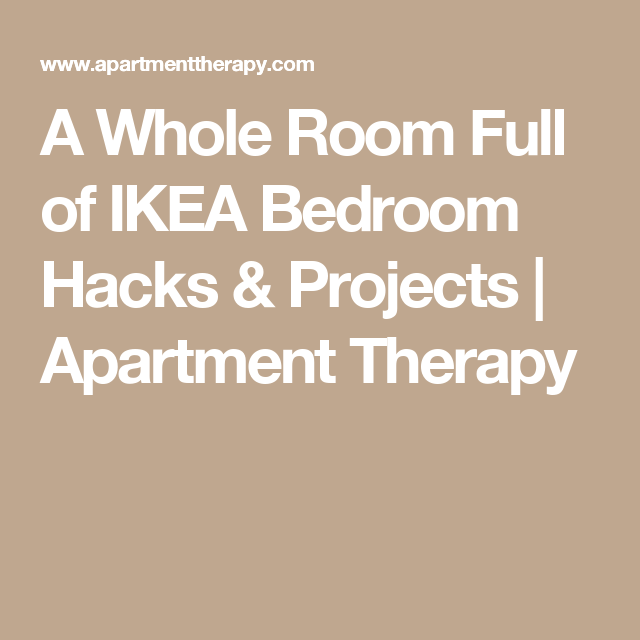 A Whole Room Full of IKEA Bedroom Hacks & Projects | Apartment Therapy