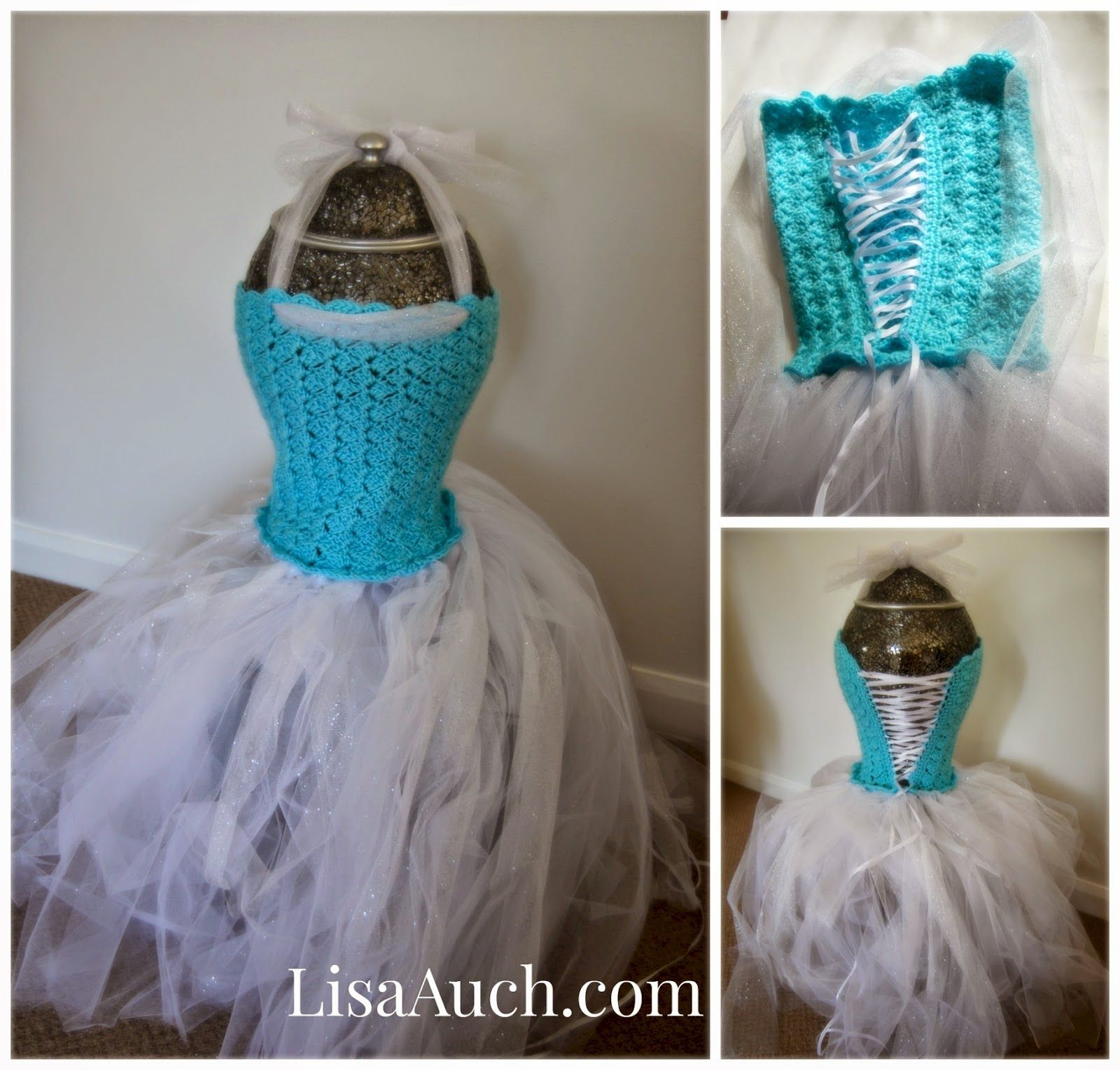 20 crochet girl dress with free pattern crochet girls crochet free pattern make your own elsa frozen dress crochet tutu dress for older girl bankloansurffo Image collections