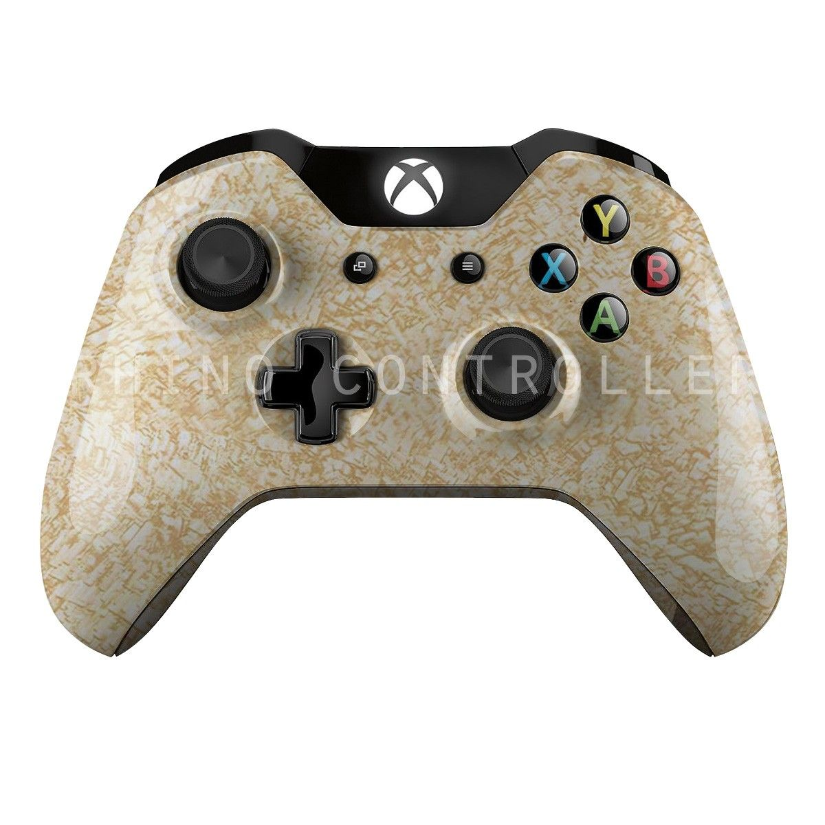 Custom XBOX One controller Wireless Glossy WTP-527-Cork-Gold Custom ...
