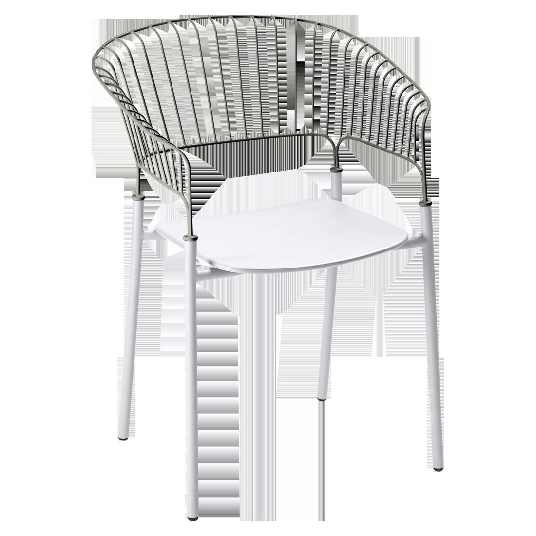 Mobilier De Jardin Design Francais Metal En Couleurs