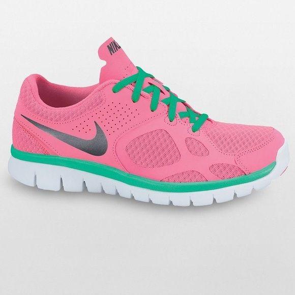 le scarpe nike rosa e verde acqua nike flex è carino pinterest nike
