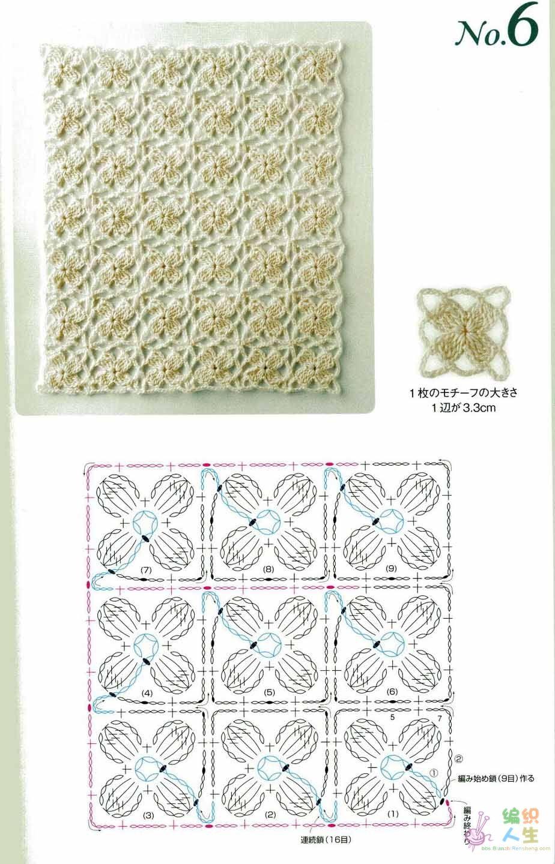 Clases de Puntos y Patrones. Libros - Patrones Crochet | ganchillo ...