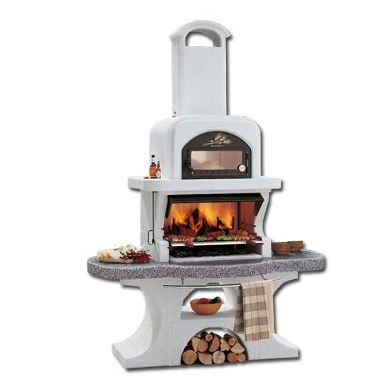 Palazzetti gartengrill grillkamin gartenkamin grill capri for Outdoorkuche mit grill