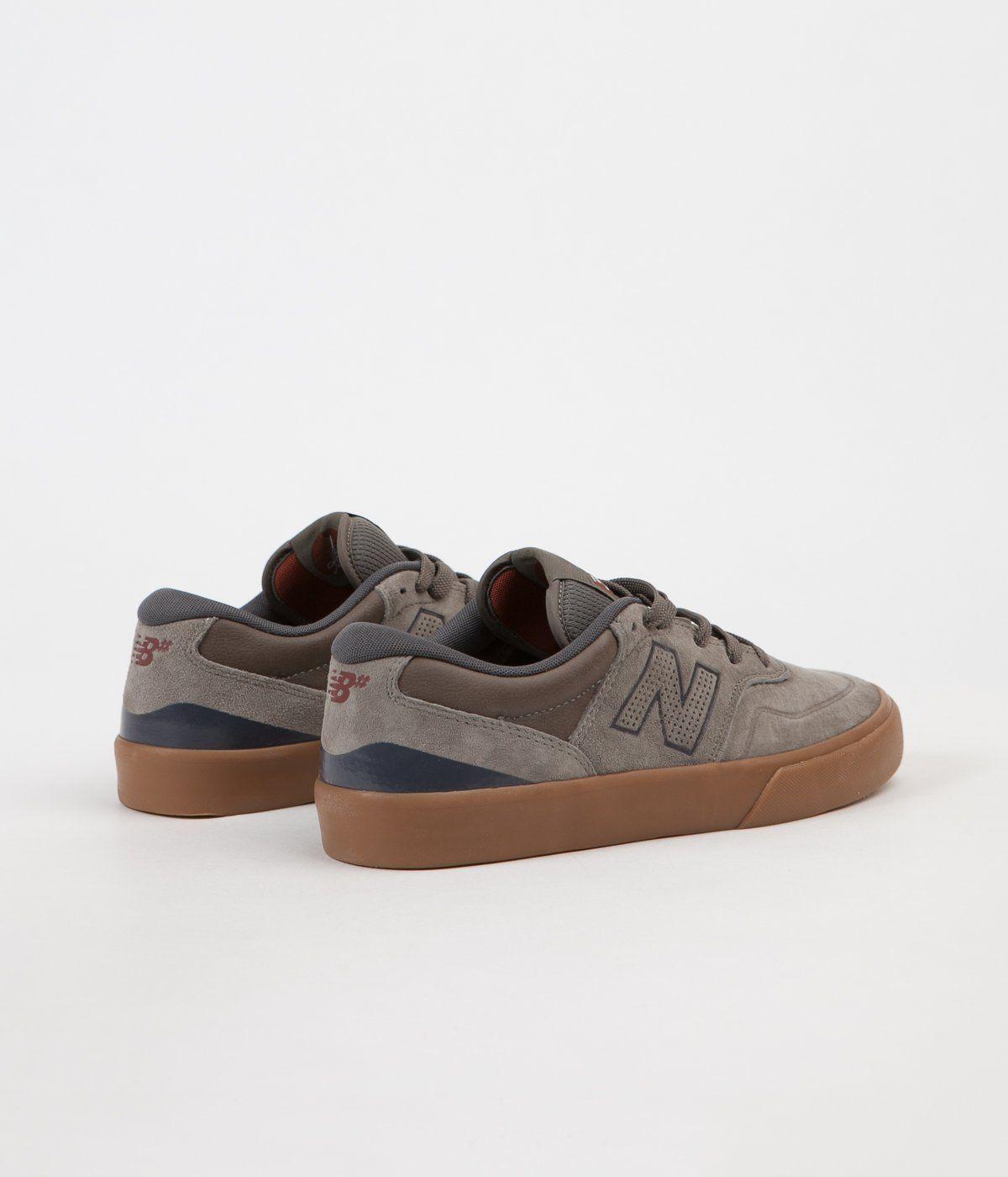 New Balance Numeric Arto 358 Shoes Olive Gum | Clothes