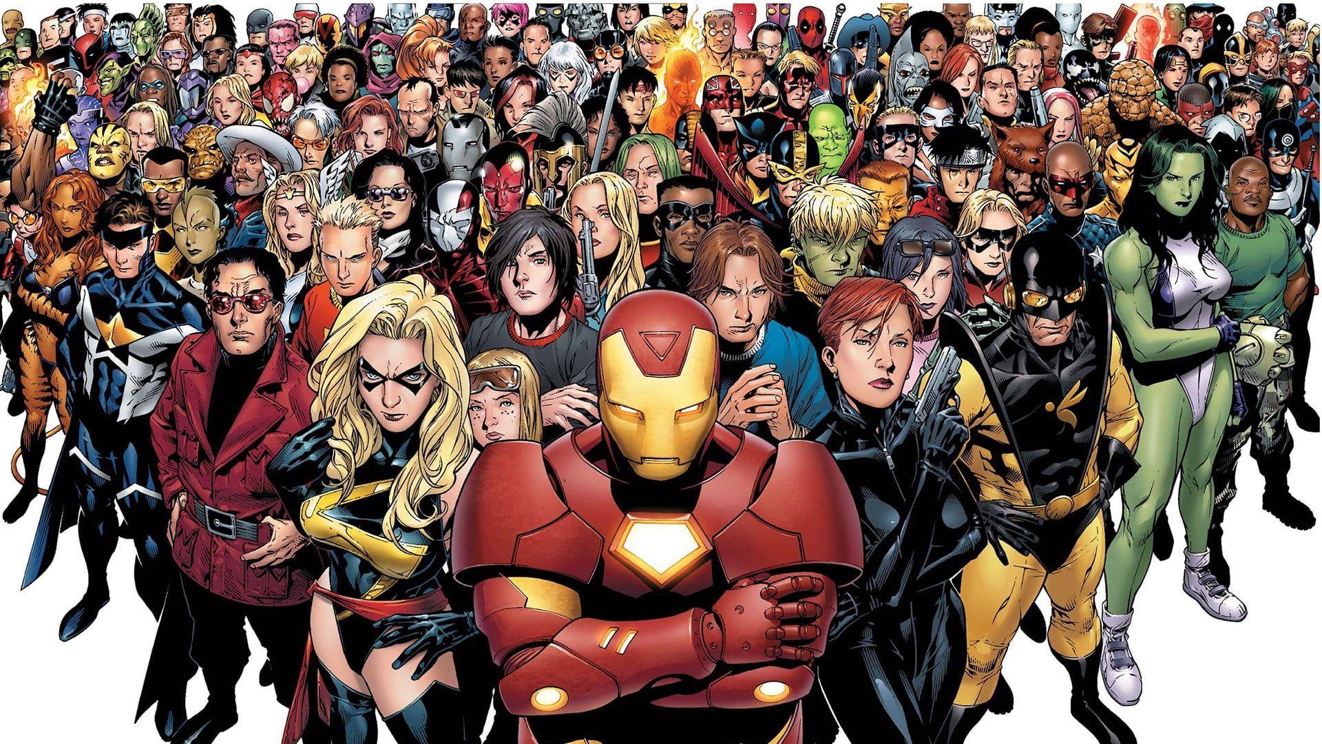 Marvel Super Heroes Digital Wallpaper Marvel Comics Civil War Comics Team Iron Man 1080p Wallpaper Hdwallpape In 2020 Marvel Heroes Marvel Cinematic Marvel Comics