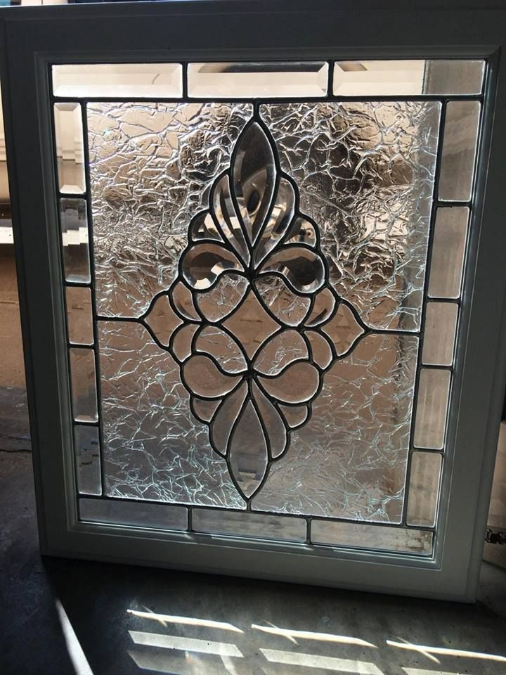 Custom Beveled Cabinet Doors By Spencer Glass In Amarillo Texas