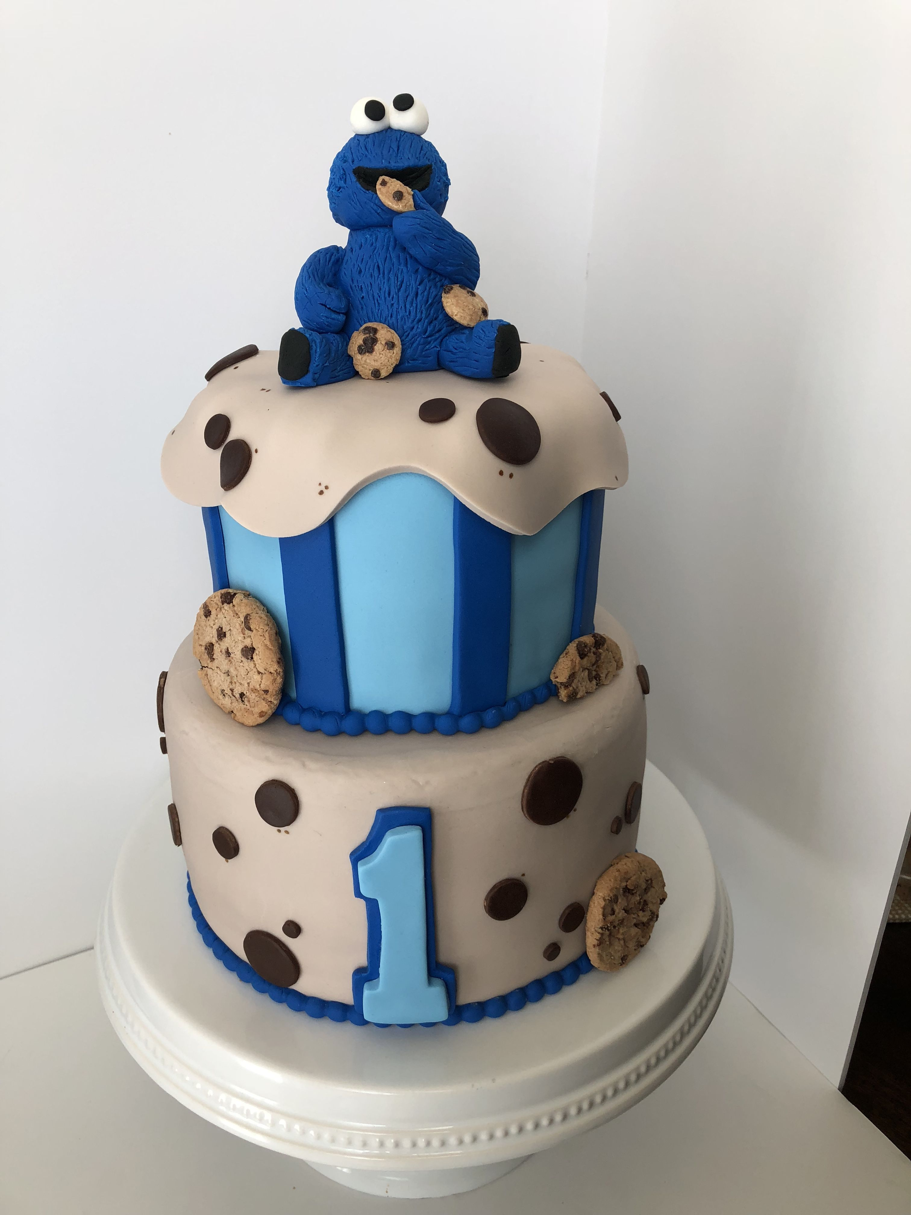 Cookie Monster Cake Cookie Monster Birthday Party Cookie