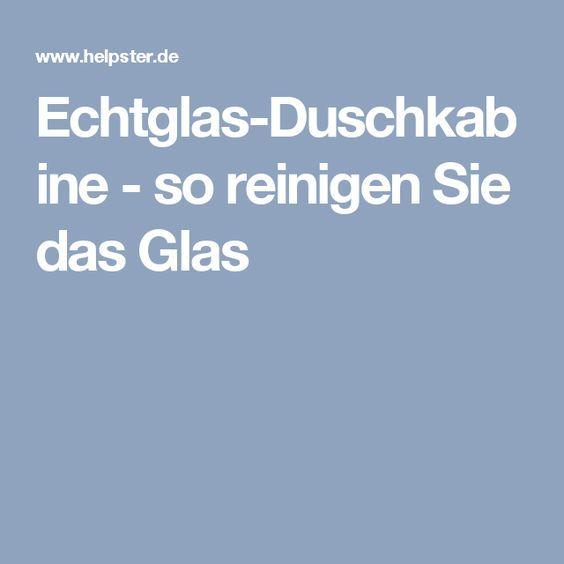 EchtglasDuschkabine so reinigen Sie das Glas in 2020