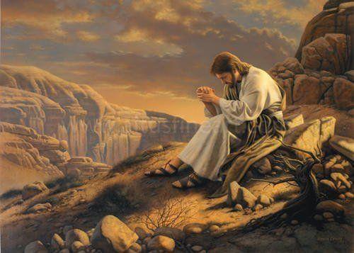 326 – Jesus in the Desert (Have a good Lenten journey) | Jesus ...