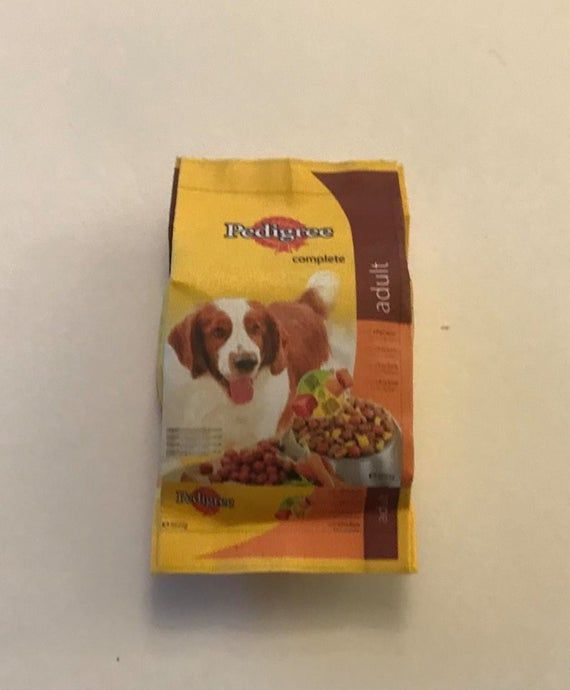 Dollhouse Miniature Box of Dog Treats by Cindi/'s Mini/'s