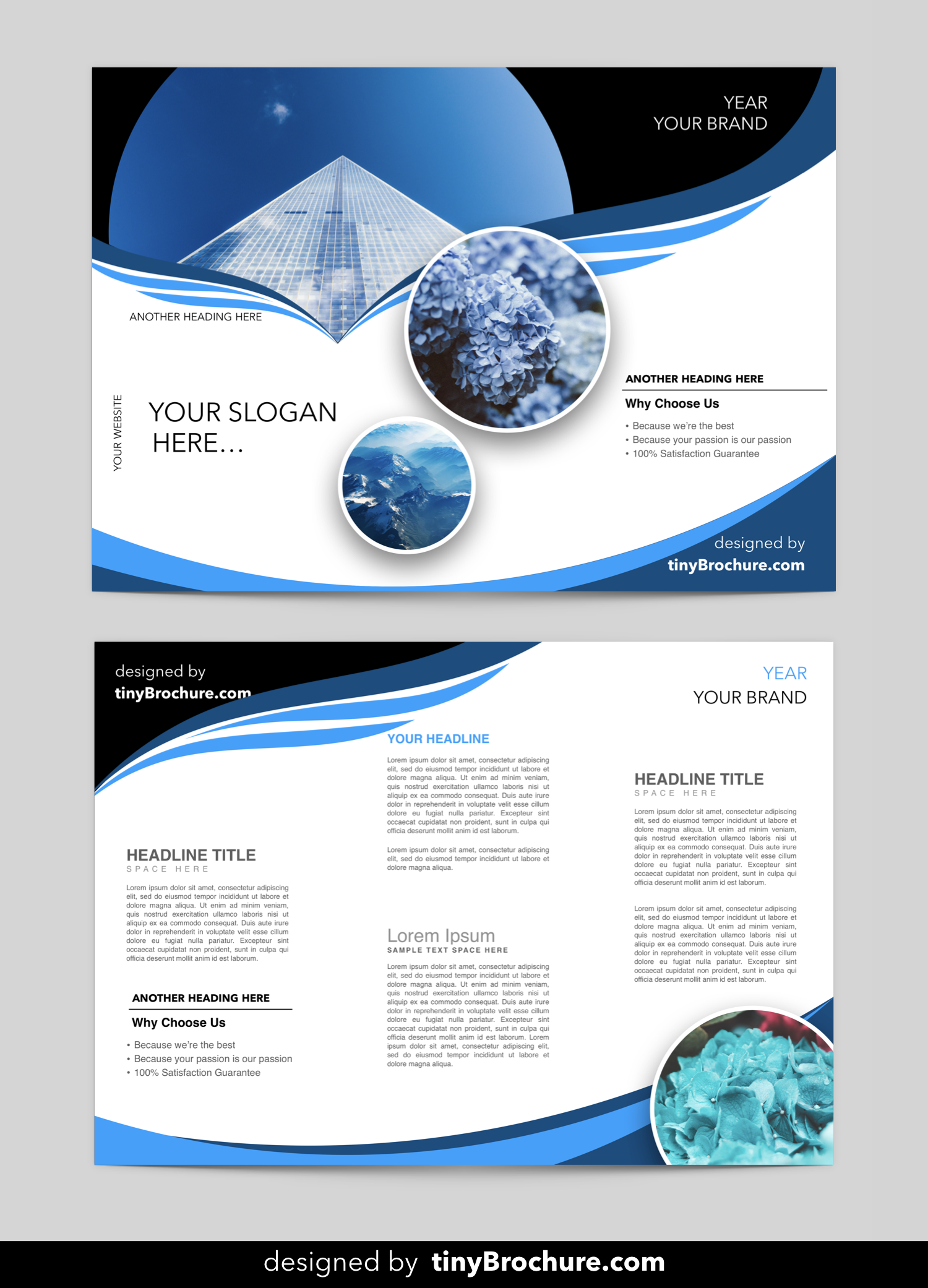 editable brochure template word free download