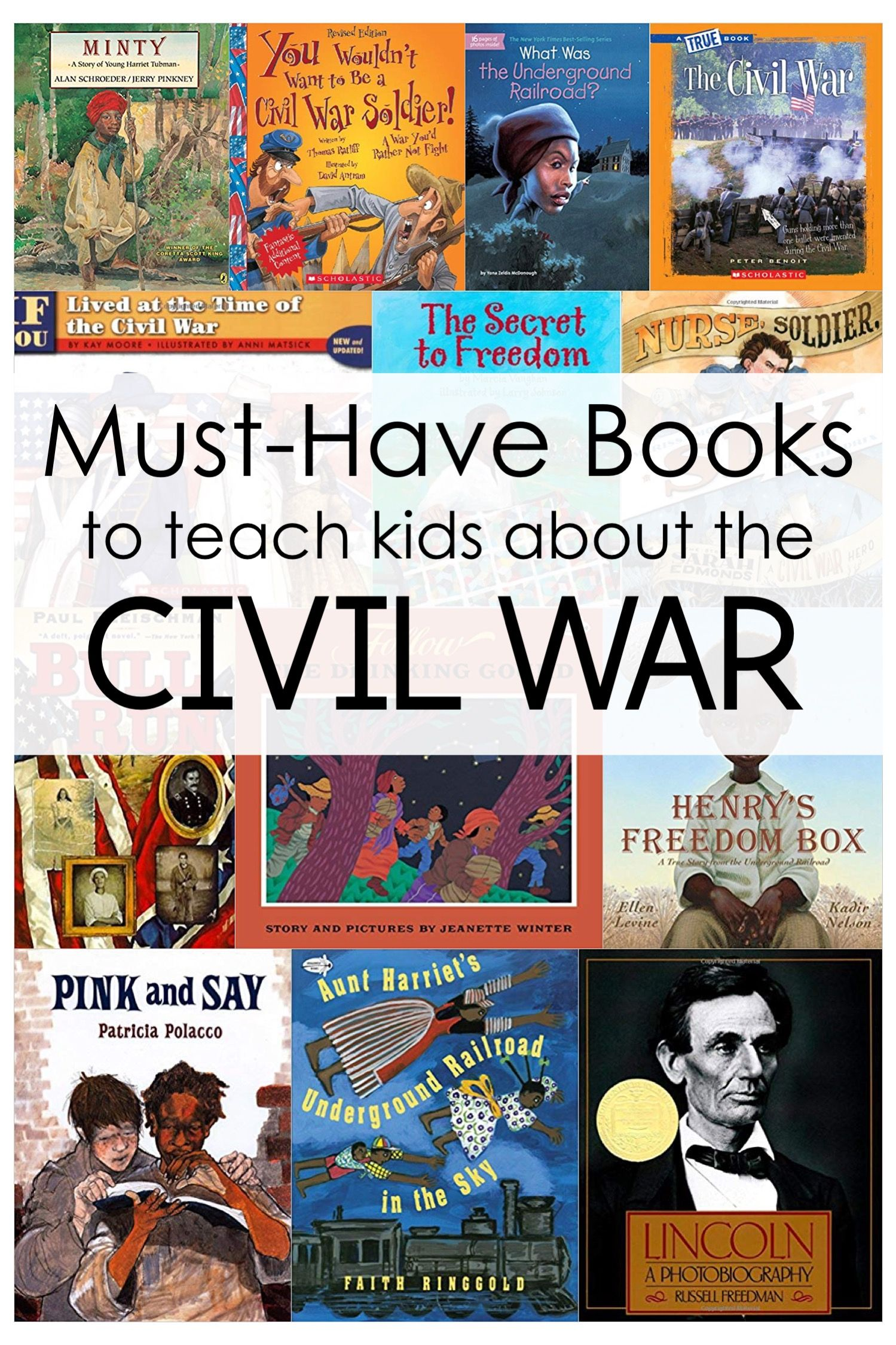 Here Are Some Of My Favorite Civil War Books For Upper