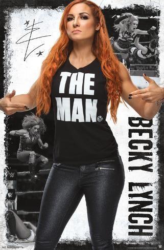 Poster: Wwe - Becky Lynch 19 : 34x22in