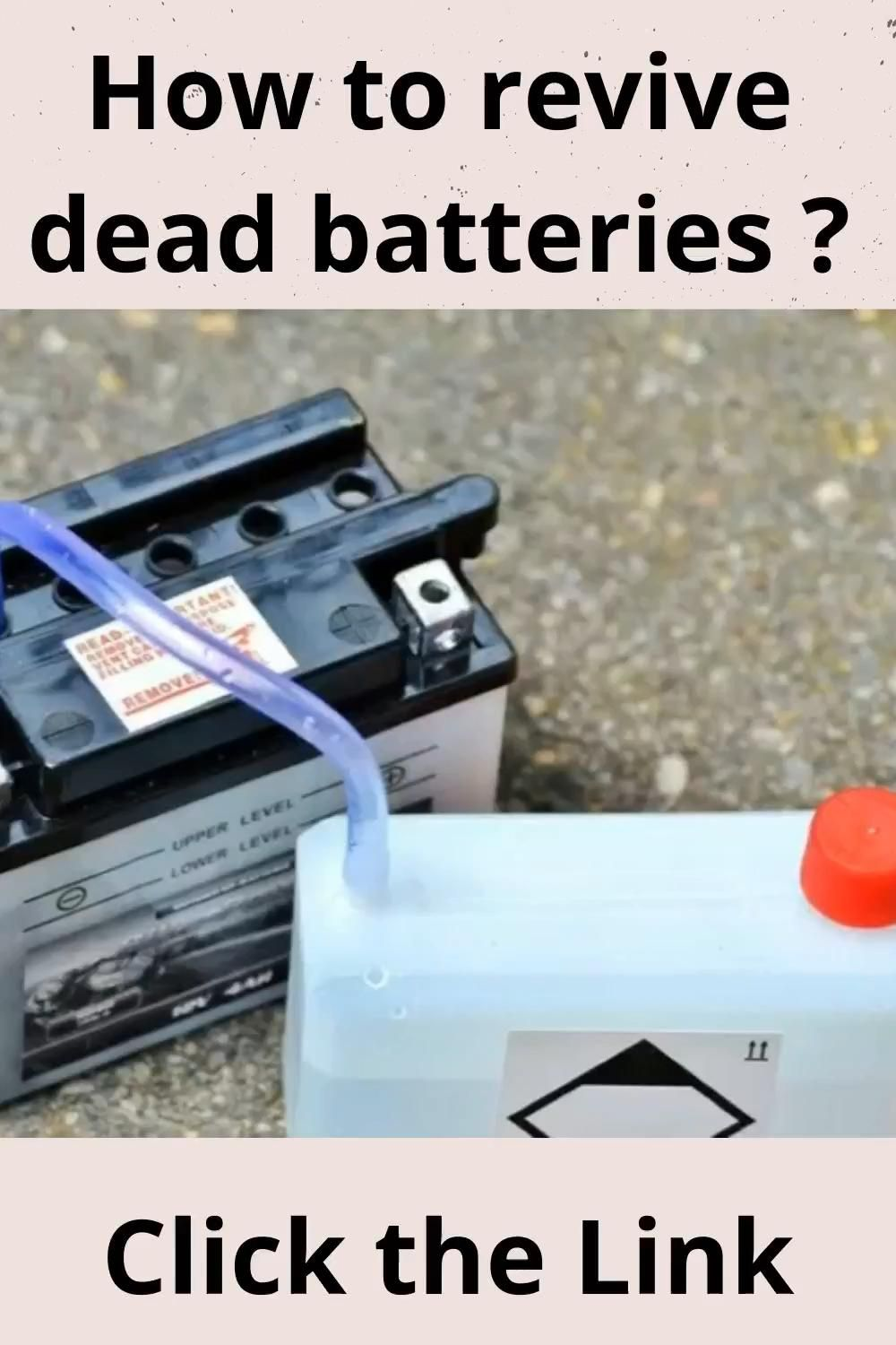 How To Restore A Battery Reconditioning Nicad Batteries Battery Reconditioning Business Fix It Video Car Battery Hacks Battery Repair Batteries Diy