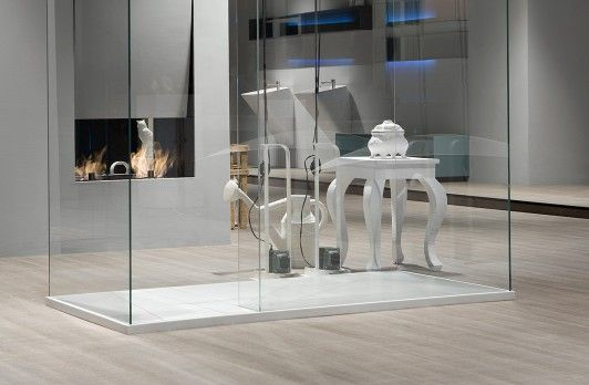 Captivating Antonio Lupi ISOLA Shower Box.Right Or Left Free Standing Shower Enclosure  In Tempered Glass