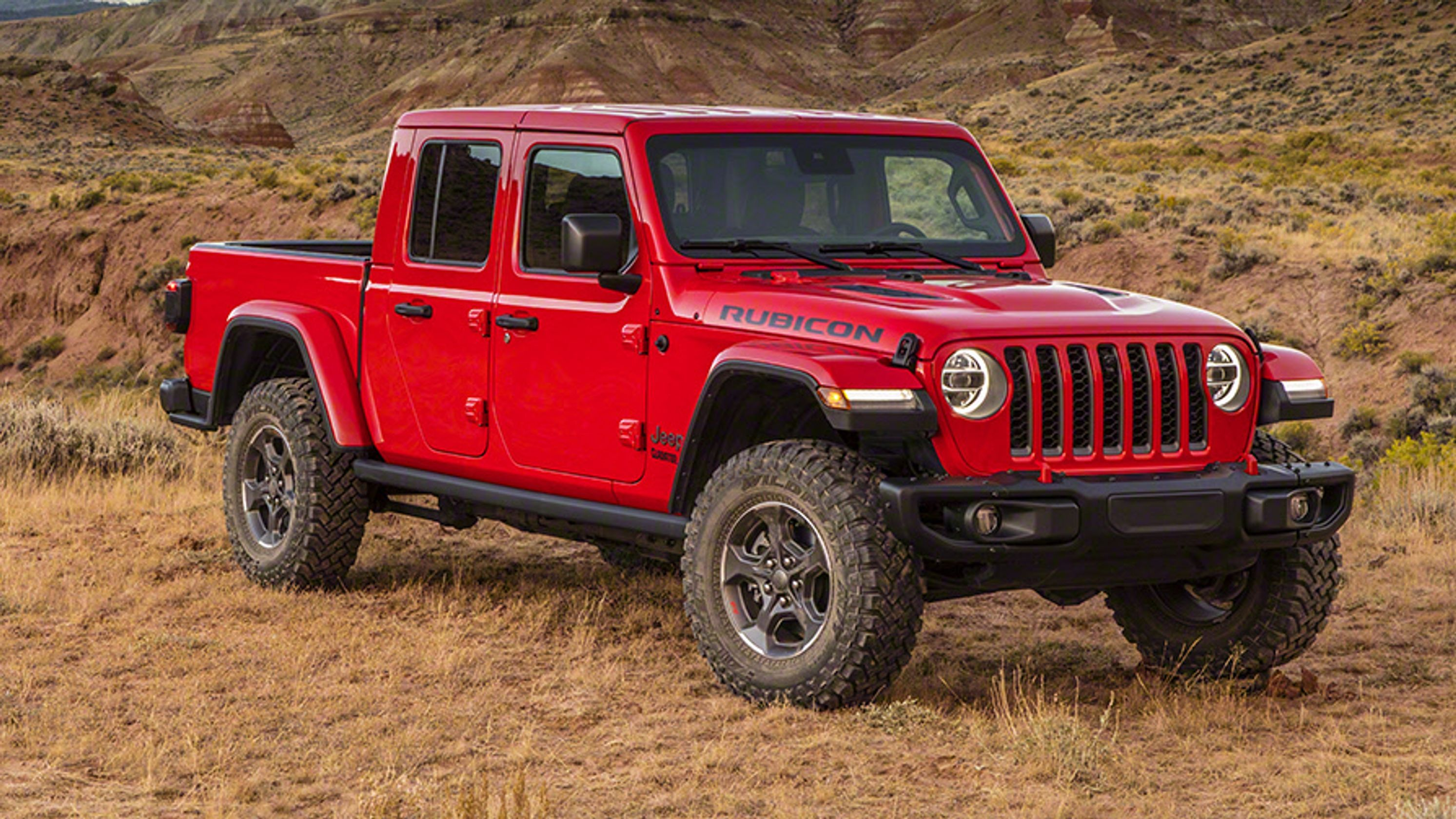 Jeep Gladiator Truck Finally Revealed At La Auto Show Jeep