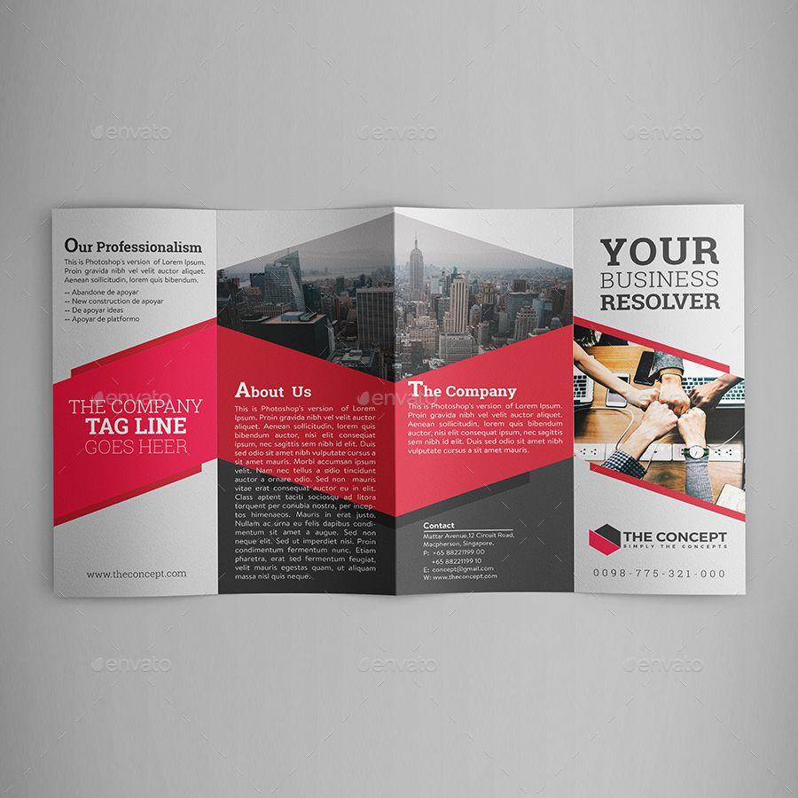 Double Gate Fold Brochure Brochure Design Layout Company Brochure Design Brochure