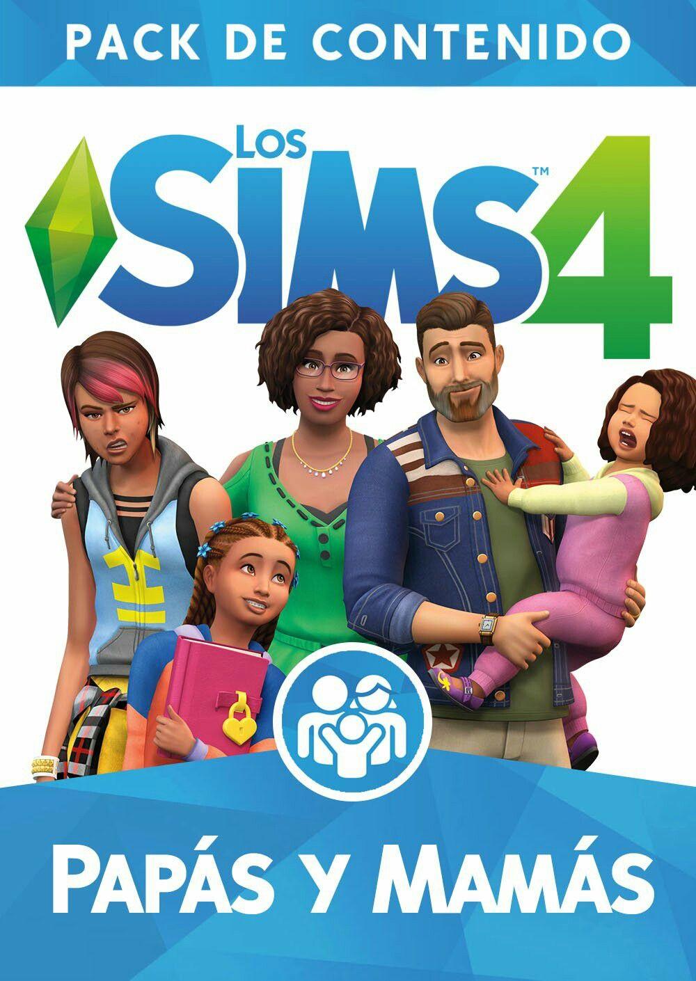 Los Sims 4 Papás Y Mamás Pack De Contenido Sims Sims 4 Sims 4 Expansiones